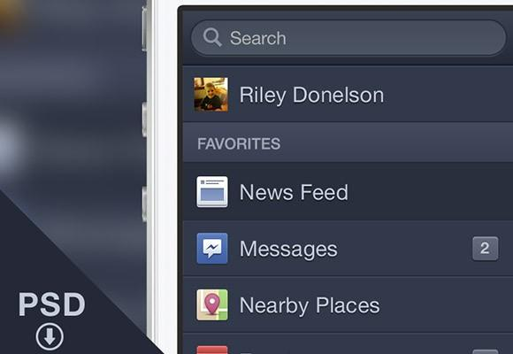 facebook_ios_menu