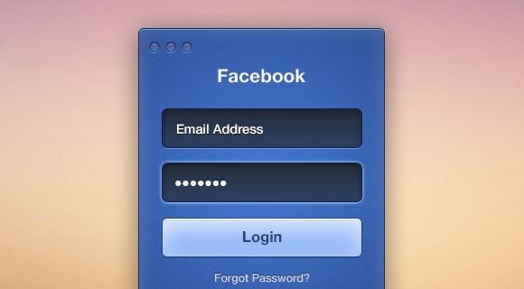 facebook_login_form_psd