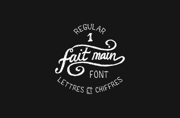 fait_main_1_free_font
