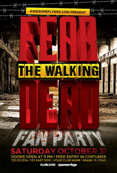 fear_the_walking_dead_party_flyer_template