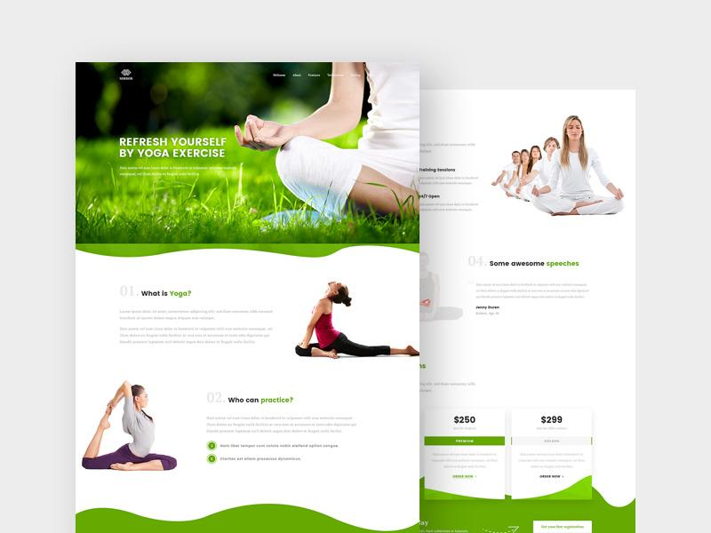 fitness_&_yoga_landing_page