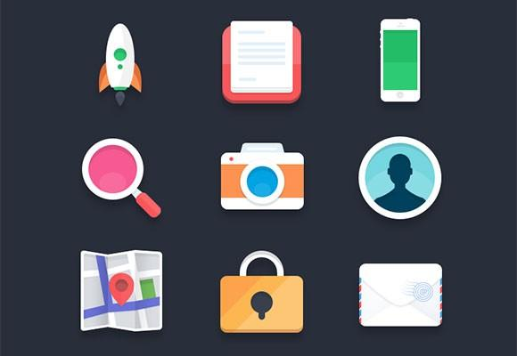 psd_flat_icons_by_pierre_borodin