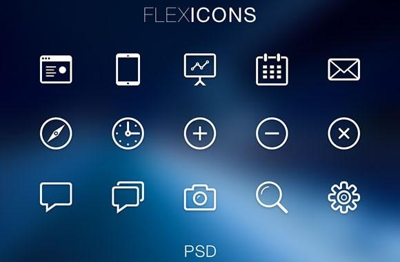 flexicons_psd_icons