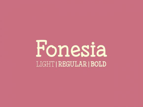 fonesia_free_font