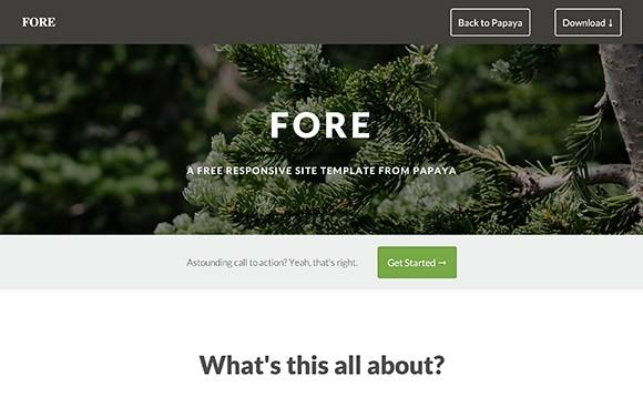 fore_html_website_template