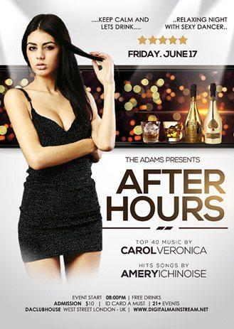 after_hours_nightclub_free_psd_flyer_template