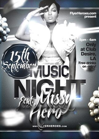 music_night_free_flyer_template
