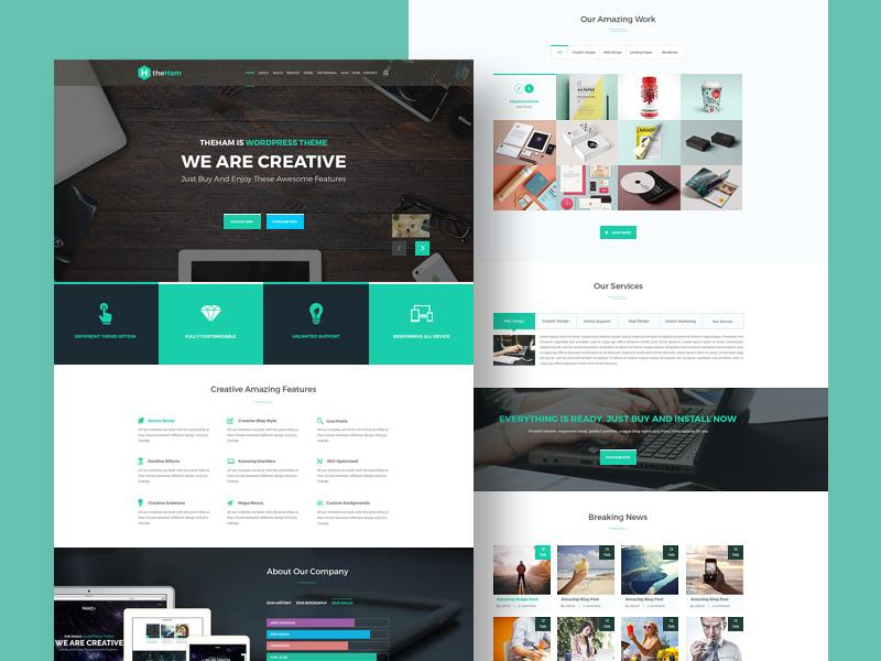 creative_landing_page_template