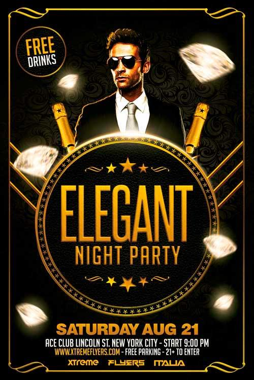 free_elegant_party_flyer_template