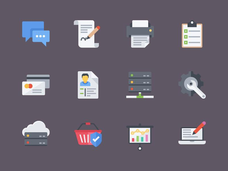 colorful_flat_icons