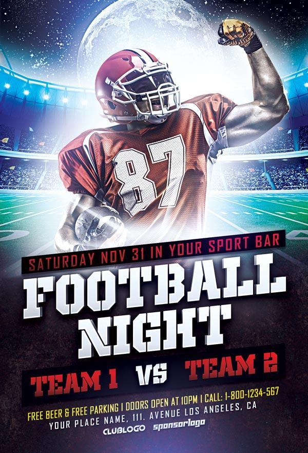 football_sports_flyer_psd_template