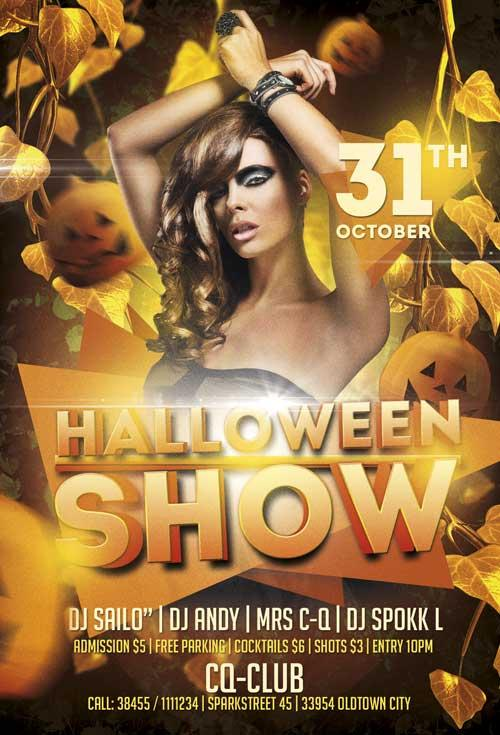 free_halloween_show_psd_flyer_template