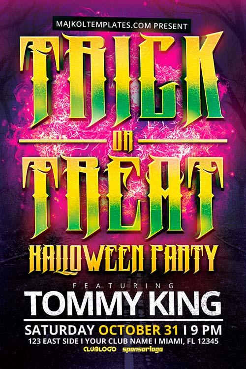 free_trick_or_treat_halloween_flyer_template