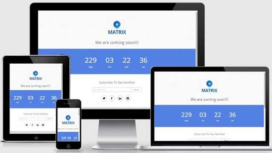 40 free html coming soon maintenance under construction website 30free html5 responsive coming soon page template freehtml5responsivecomingsoonpagetemplate maxwellsz