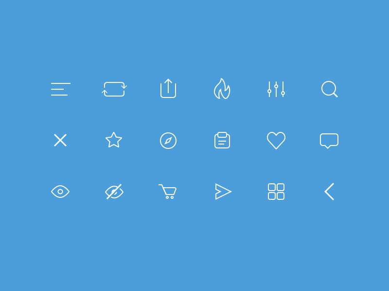 line_icon_set