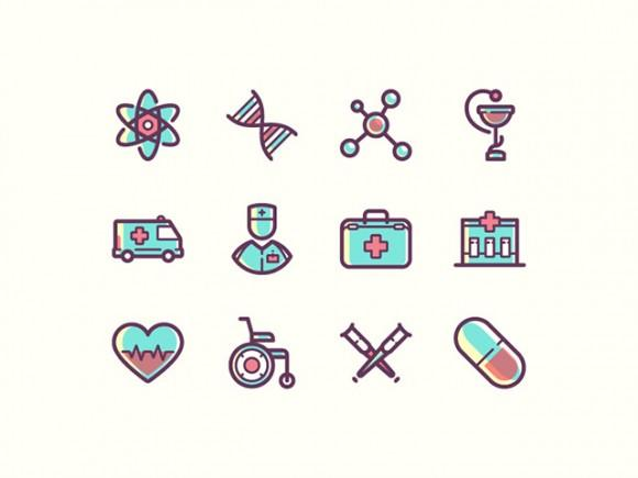 12_medical_icons_psd