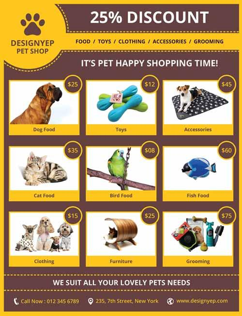 pet_shop_free_psd_flyer_template