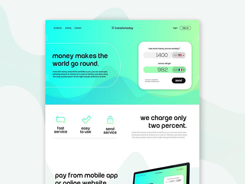 money_transfer_website_template