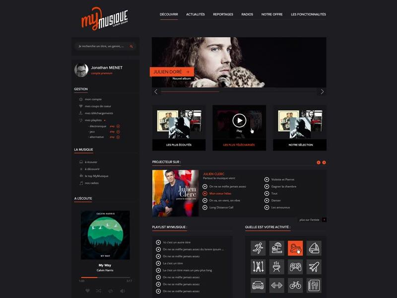 mymusique_website_template