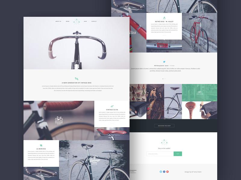 bicycle_website_template