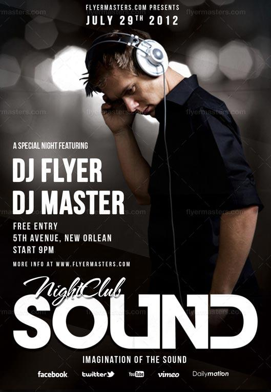 free_sound_flyer_and_poster_psd_template