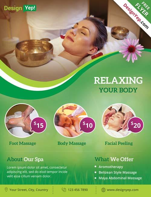 spa_and_wellness_free_psd_flyer_template