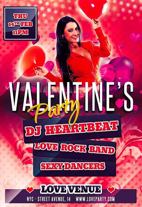 free_valentine_party_flyer_psd_template