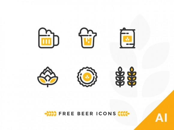 6_outline_beer_icons