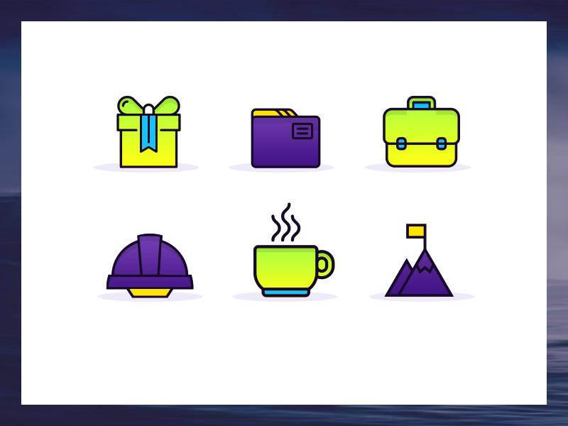 gradient_productivity_icons