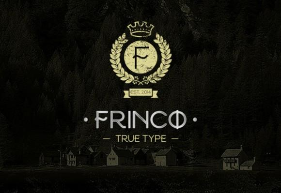 frinco_free_font