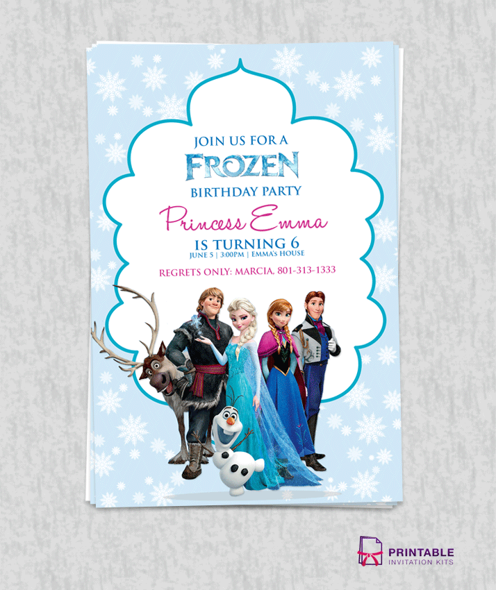 frozen_birthday_invitation_template