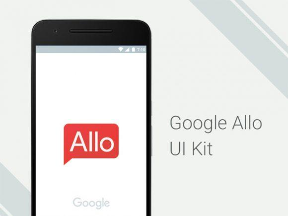 google_allo_free_ui_kit_for_photoshop
