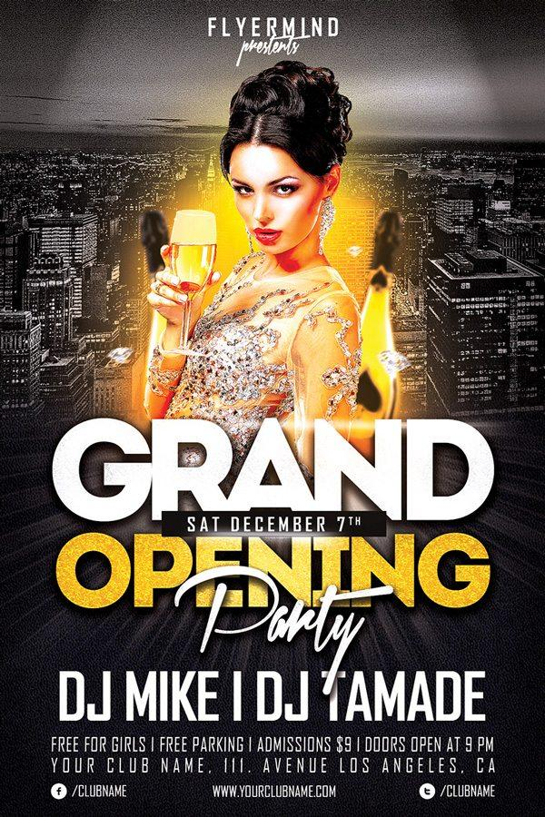 free_grand_opening_party_flyer_template_vol.1