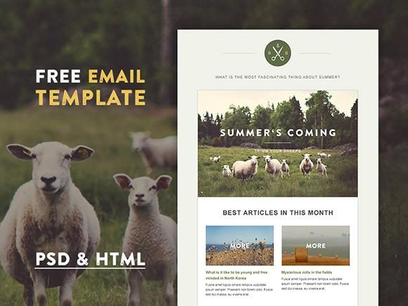 green_village_html_email_template