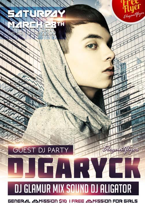 guest_dj_party_free_club_and_party_flyer_psd_template