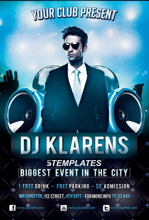 guest_dj_party_free_flyer_psd_template