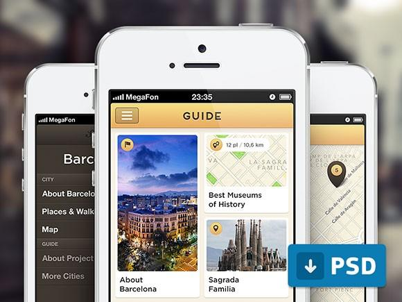 city_guide_app_free_psd