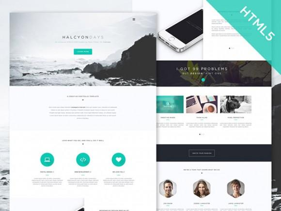 halcyon_days_free_html5_website_template