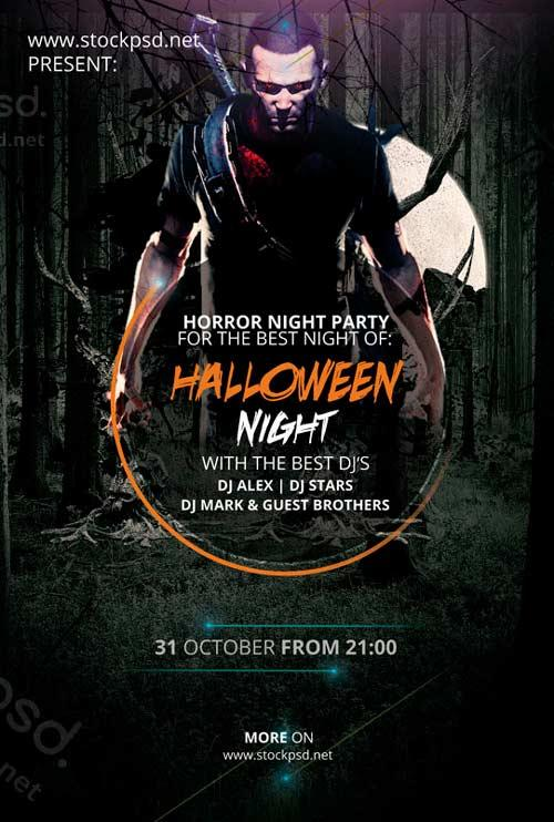 halloween_night_free_psd_flyer_template