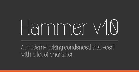 hammer_v1_0_free_font