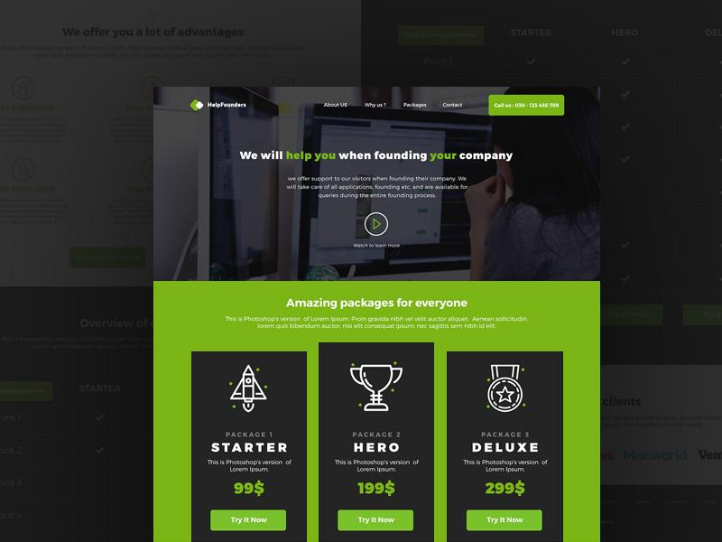 helpfounders_landing_page
