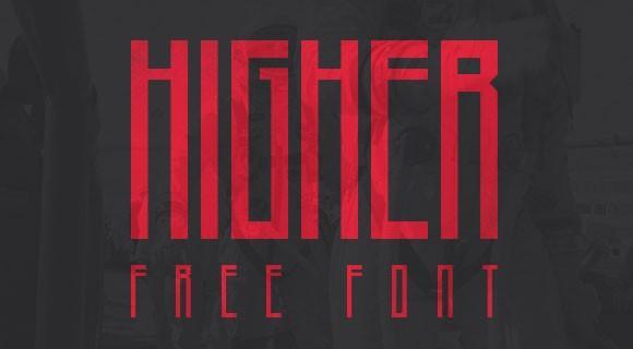 higher_free_font
