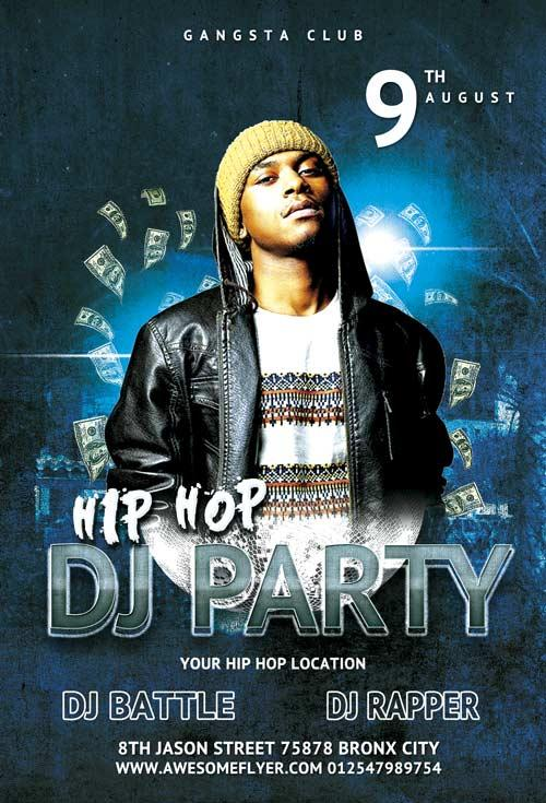 free_hip_hop_battle_dj_party_flyer_template