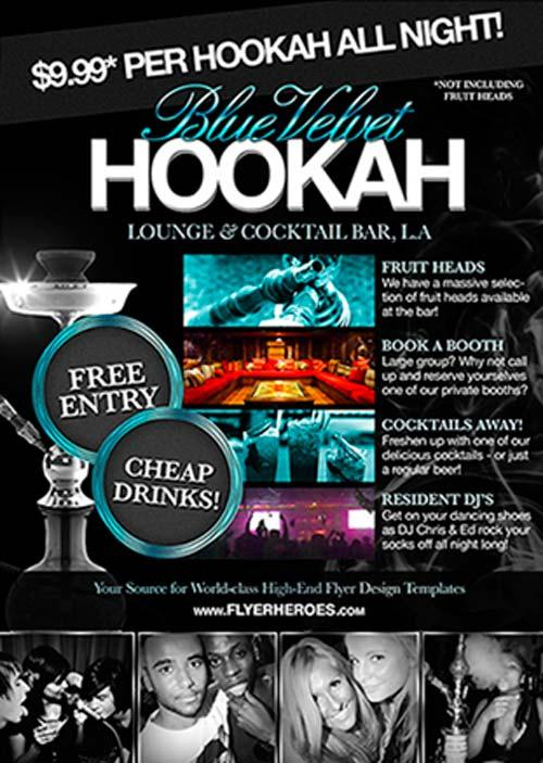 free_hookah_lounge_flyer_psd_template