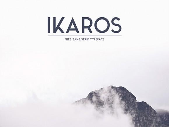 ikaros_free_font