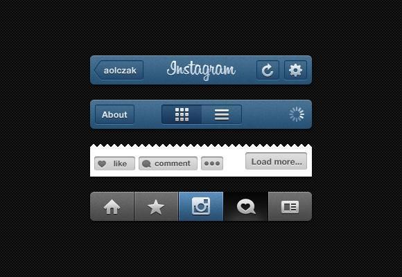 insta_gui_psd_instagram_ui
