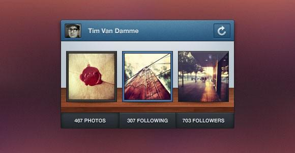 instagram_mini_profile_widget_psd