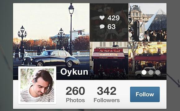 instagram_widget_free_psd