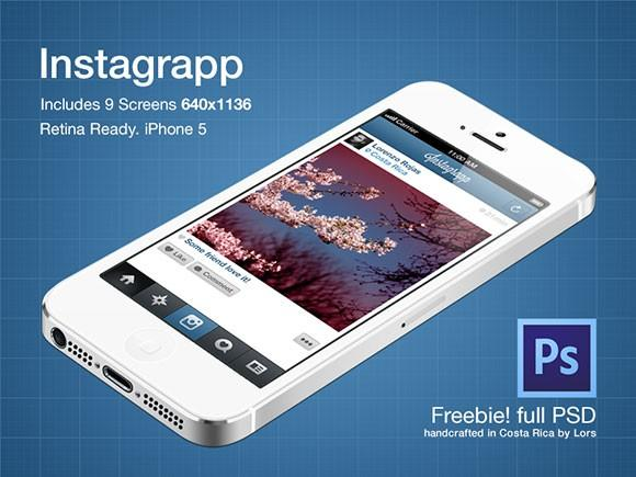 instagrapp_free_psd