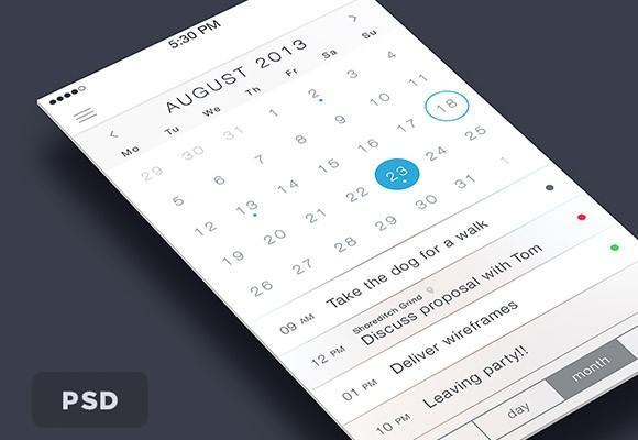 ios7_calendar_psd